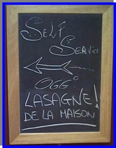 lasagne de la maison